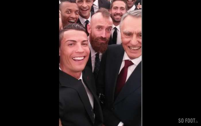 Photo : Le selfie du Portugal