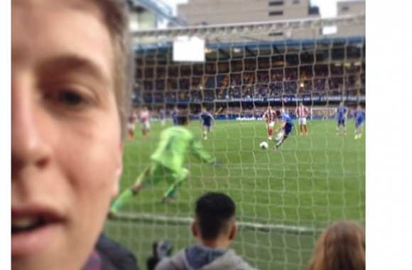 Photo : Le selfie malin d'un Blues