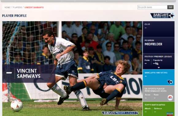 Photo : Le site de la Premier League sort une perle