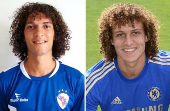 Photo : Le sosie de David Luiz