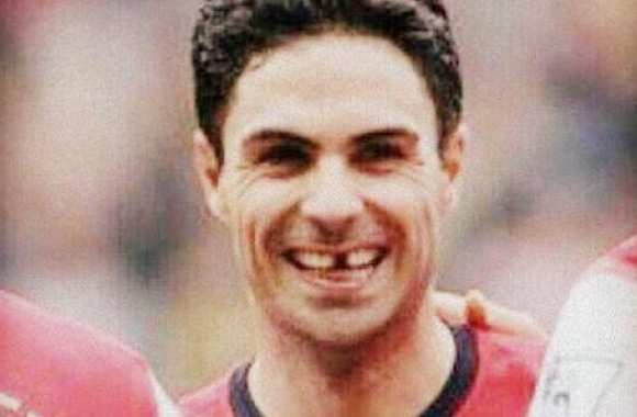 Photo : Le sourire fou d'Arteta