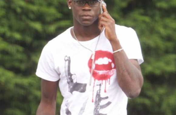 Photo : le T-shirt de Balotelli