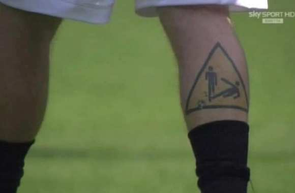 Photo : Le tattoo de De Rossi