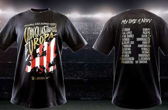 Photo : Le tee-shirt taquin de l'Atlético