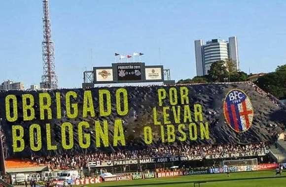 Photo : le tifo moqueur du Timao