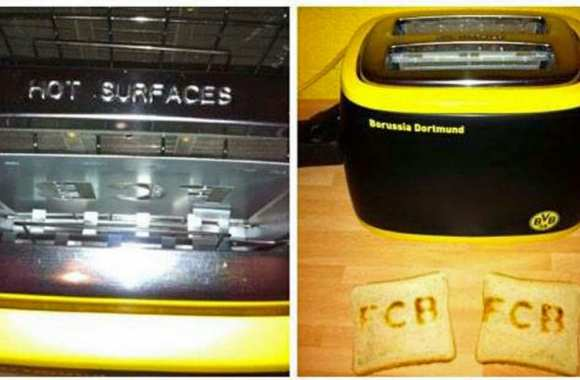 Photo : le toaster du BVB