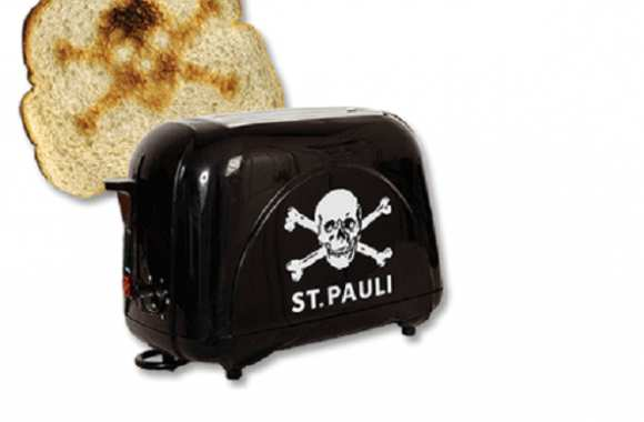 Photo : Le toaster Sankt Pauli