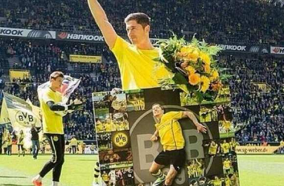Photo : Les adieux de Lewandowski