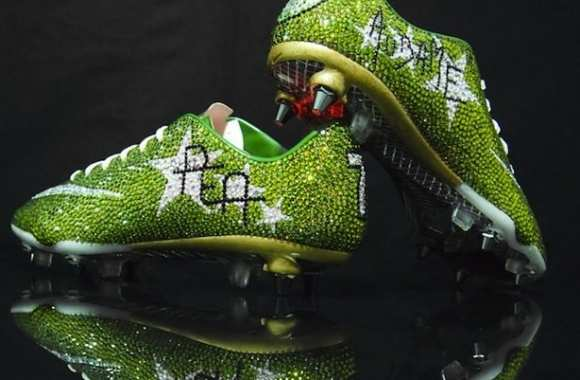 Photo : Les crampons d'Aubameyang