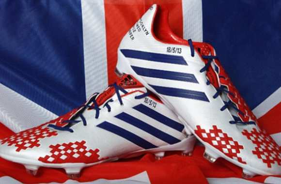 Photo : Les crampons de Beckham