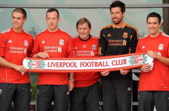 Photo : Les recrues de Liverpool