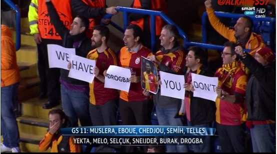 Photo : Les trolls de Galatasaray
