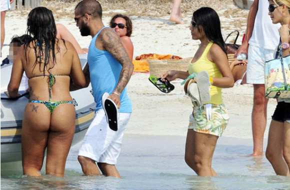 Photo : Les vacances de Dani Alves