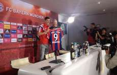 Photo : Lewandowski officiellement présenté