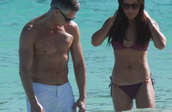 Photo : Lineker en vacances à Saint-Barth