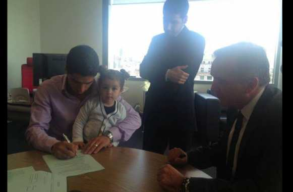 Photo : Luis Suarez prolonge