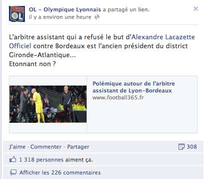 Photo : Lyon accuse