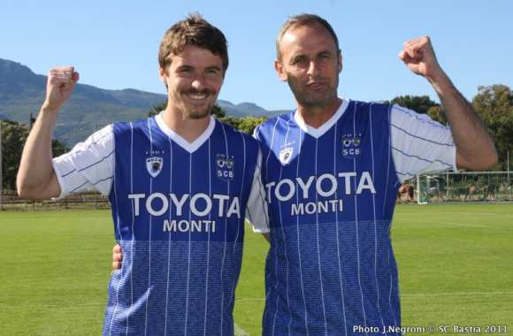 Photo : Maillot collector pour Bastia
