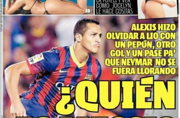 Photo: Mais « Qui est Messi ? »