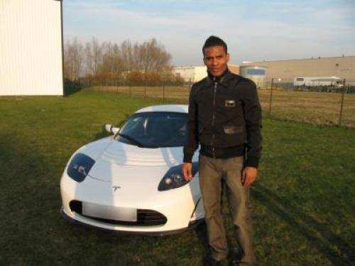 Photo: Malouda à Auto-Moto
