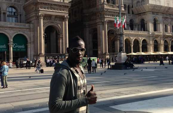 Photo : Mamadou Sakho à Milan