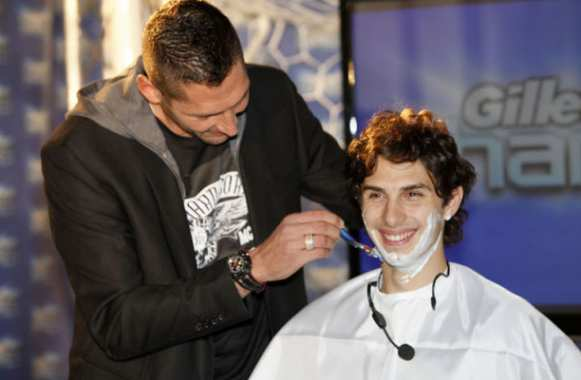 Photo : Materazzi le barbier