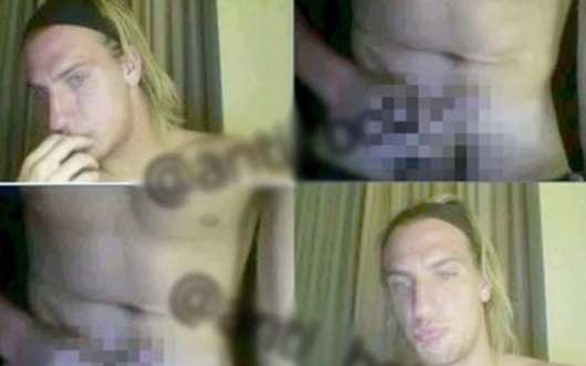 Photo : Maxi Lopez se la touche sur Internet