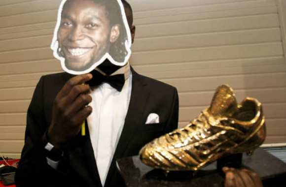 Photo: Mbokani Soulier d'Or belge