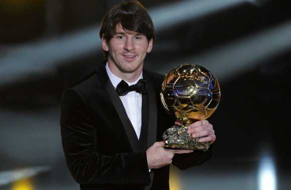 Photo : Messi, Ballon d'Or bis