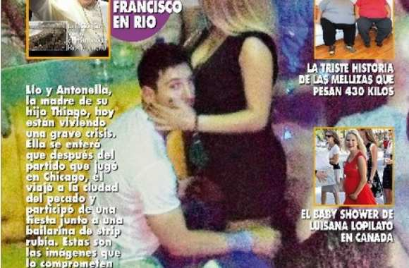 Photo : Messi et sa call-girl