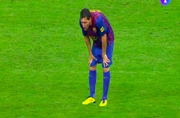 Photo : Messi vomit