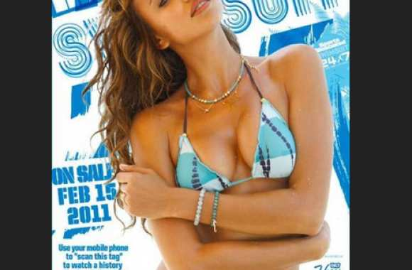Photo: Miss Cristiano Ronaldo en bikini
