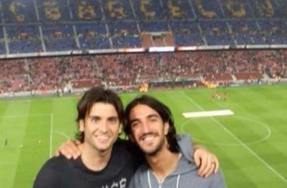 Photo : Morosini adorait le Barça