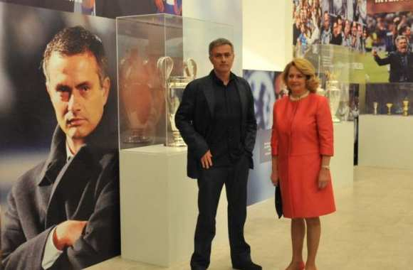 Photo: Mourinho a son exposition