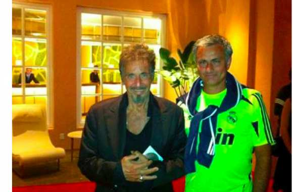 Photo : Mourinho avec Al Pacino