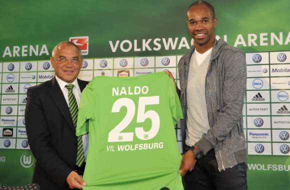 Photo : Naldo à Wolfsburg