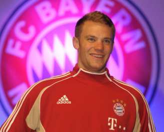 Photo : Neuer au Bayern Munich