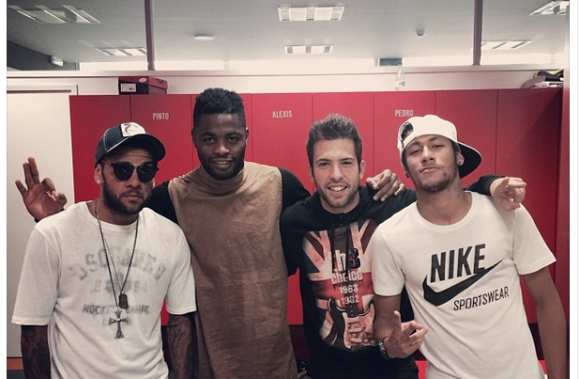 Photo : Neymar et ses boys