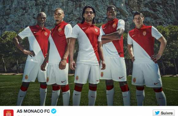 Photo : Nouveau maillot de Monaco