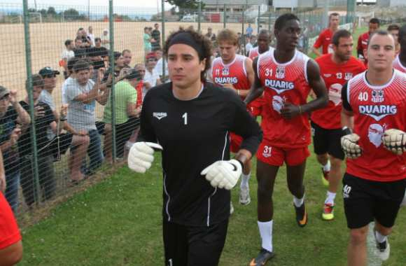 Photo : Ochoa à Ajaccio