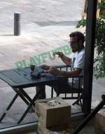 Photo : Osvaldo et la cigarette