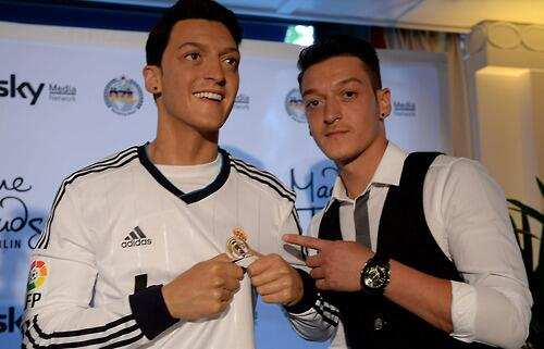 Photo : Özil chez Madame Tussaud