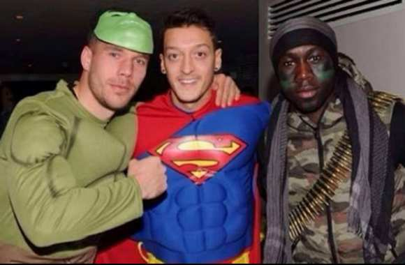 Photo : Özil et les Super Gunners