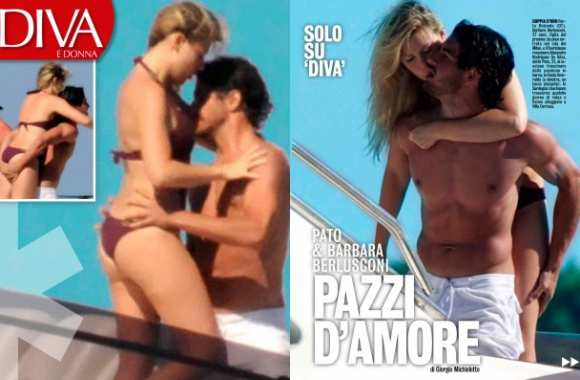 Photo : Pato et Barbara « fous d'amour »