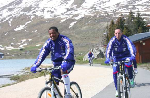 Photo : Patrice Evra, vélo détente