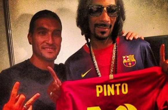 Photo : Pinto et Snoop Dogg