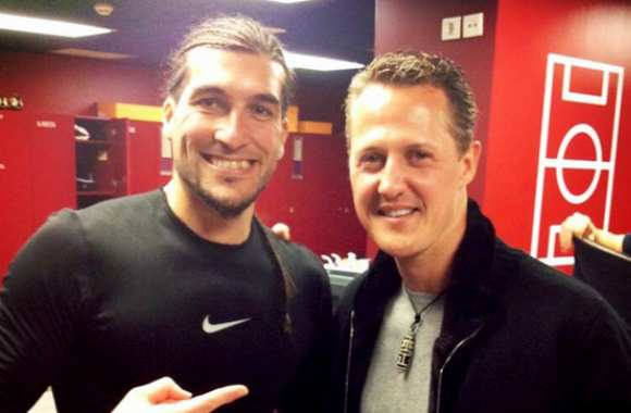 Photo: Pinto rencontre Schumacher