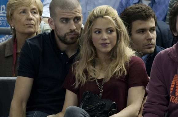 Photo: Piqué et Shakira au basket