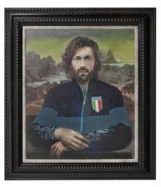 Photo : Pirlo en Joconde