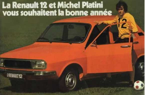 Photo : Platoche et sa R12